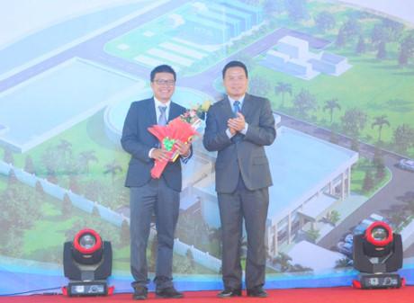 Khởi công nhà máy tái sử dụng nước thải đầu tiên tại Việt Nam